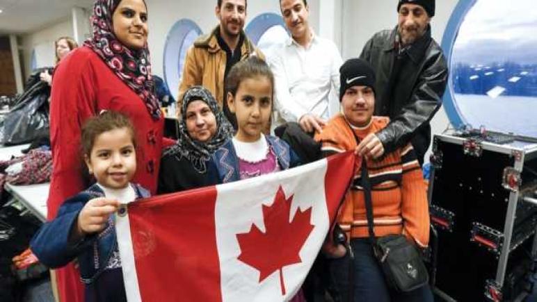 أحزاب كندية تتسابق للترحيب باللاجئين السوريين .. فما هو السبب !!