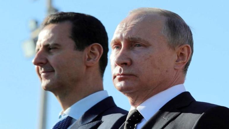 تصريح لبوتين حول نهاية الأزمة في سوريا