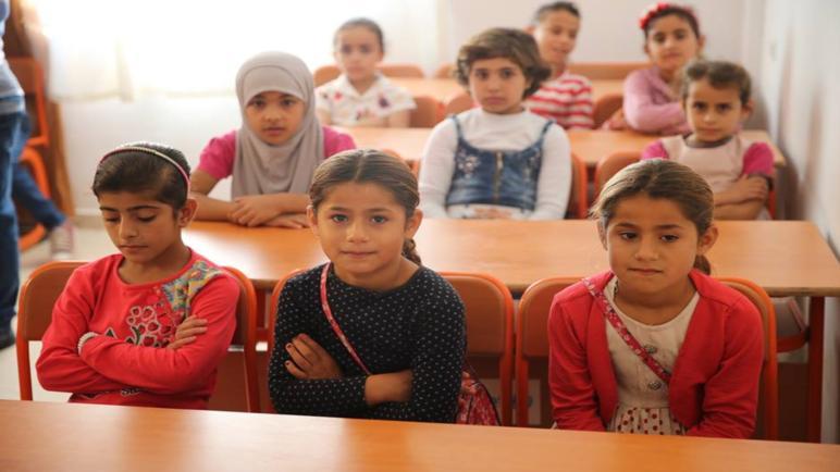 دمج التلاميذ السوريين في المدارس التركية