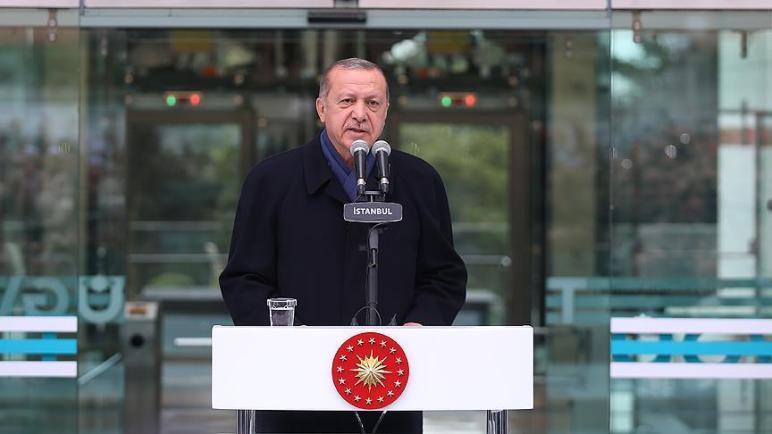 الرئيس أردوغان يوجه رسالة للعالم